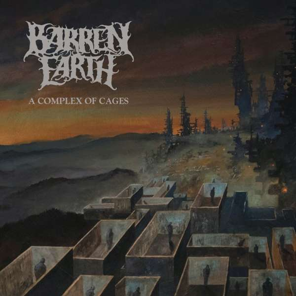 'A Complex of Cages Review' von der Kapelle 'Barren Earth'